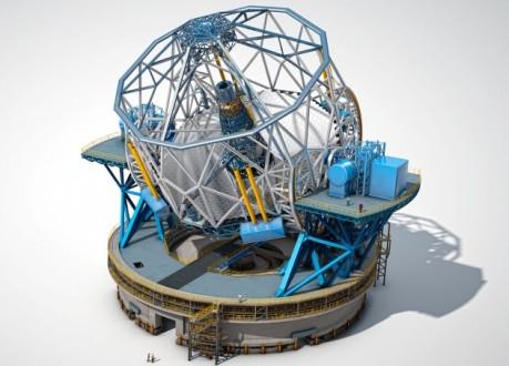 Plano del Telescopio Europeo Extremadamente Grande (E-ELT) / ESO